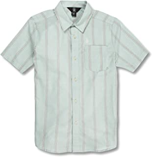 Volcom Big Boys Rilee Button Up Short Sleeve Shirt