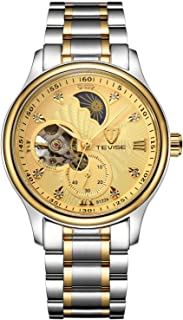 Tevise Casual Watch Analog Stainless Steel Band for Men 8122A-SGG