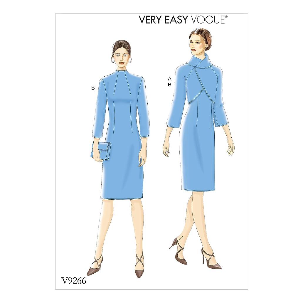 Vogue Patterns V9266E50 Dress Jacket 14-16-18-20-22 Red oln3224073