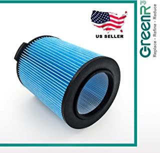 GreenR3 1-Pack Replacement Wet/Dry Air Cartridge Filters for Ridgid VF5000 Fits Ridgid WD0671 WD0970 WD06700 WD0671EX0 WD1270 WD1450 WD1851 WD09700 WD1680 WD1956 RV2400A WD0970M0 and More