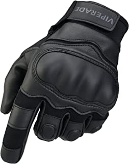 Viperade Mens Tactical Gloves Military Rubber Hard Knuckle Outdoor Glove | Heavy Duty Glove | Airsoft Glove | Best for Cycling Hiking Camping Powersports