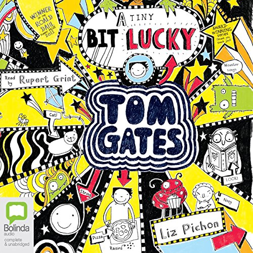 (A Tiny Bit) Lucky: Tom Gates, Book 7 audiobook cover art