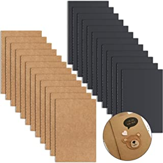"""Jekkis Pocket Notebook, 24 Pack Small Pocket Notebook Set, 2 Colors Portable Mini Lined Memo Notepad, 3.5"""" x 5.5"""""""