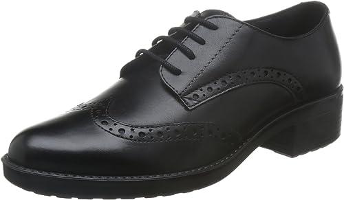 Geox D Ettiene D, zapatos de Vestir para mujer