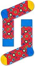 Happy Socks, Colorful Premium Cotton Celebrity Themed Socks for Men and Women, The Beatles: Flower Power, 10-13