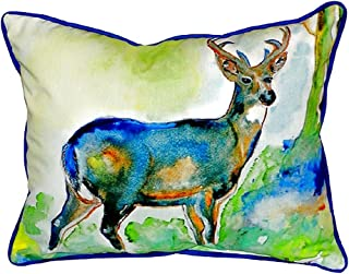 "Betsy Drake SN336 Betsy's Deer Pillow, 11"" x14"""