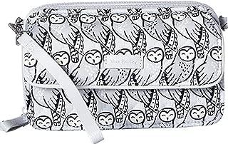 Vera Bradley Women's Iconic RFID All-In-One Crossbody Owls Gray One Size
