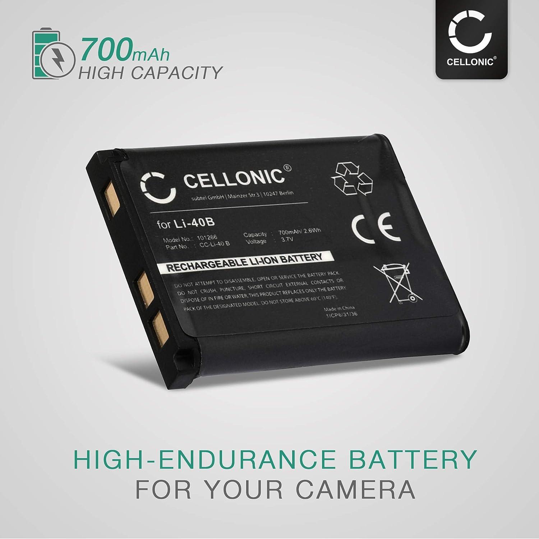 Cellonic 2x Akku Kompatibel Mit Nikon Coolpix S3000 Elektronik