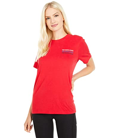 The North Face Freedom Short Sleeve Tee (TNF Red) Women