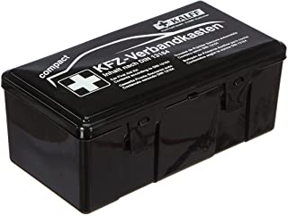 KALFF 23503 Auto verbanddoos Compact Din 13164, auto EHBO-set, box voor kofferbak, noodaccessoires voor auto, motorfiets, ...