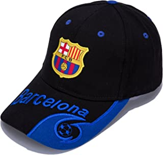 DanielFelix Barcelona F.C. -Embroidered Authentic EPL Adjustable Black Baseball Cap