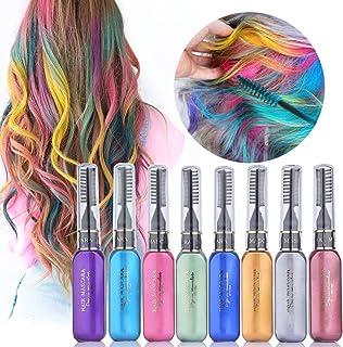 MS.DEAR Tiza de Pelo, Tinte para Cabello Temporal Hair Chalk