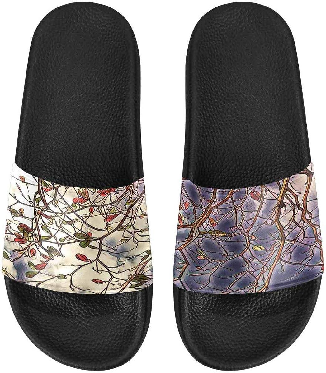 InterestPrint Women's Fashion Sandals with Slip-on Design
