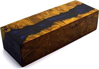 Burl Hybrid Stabilized Wood Wooden Block Turning Blank Block Bar Handle Blade Knives Knife Stabilizing (G37)