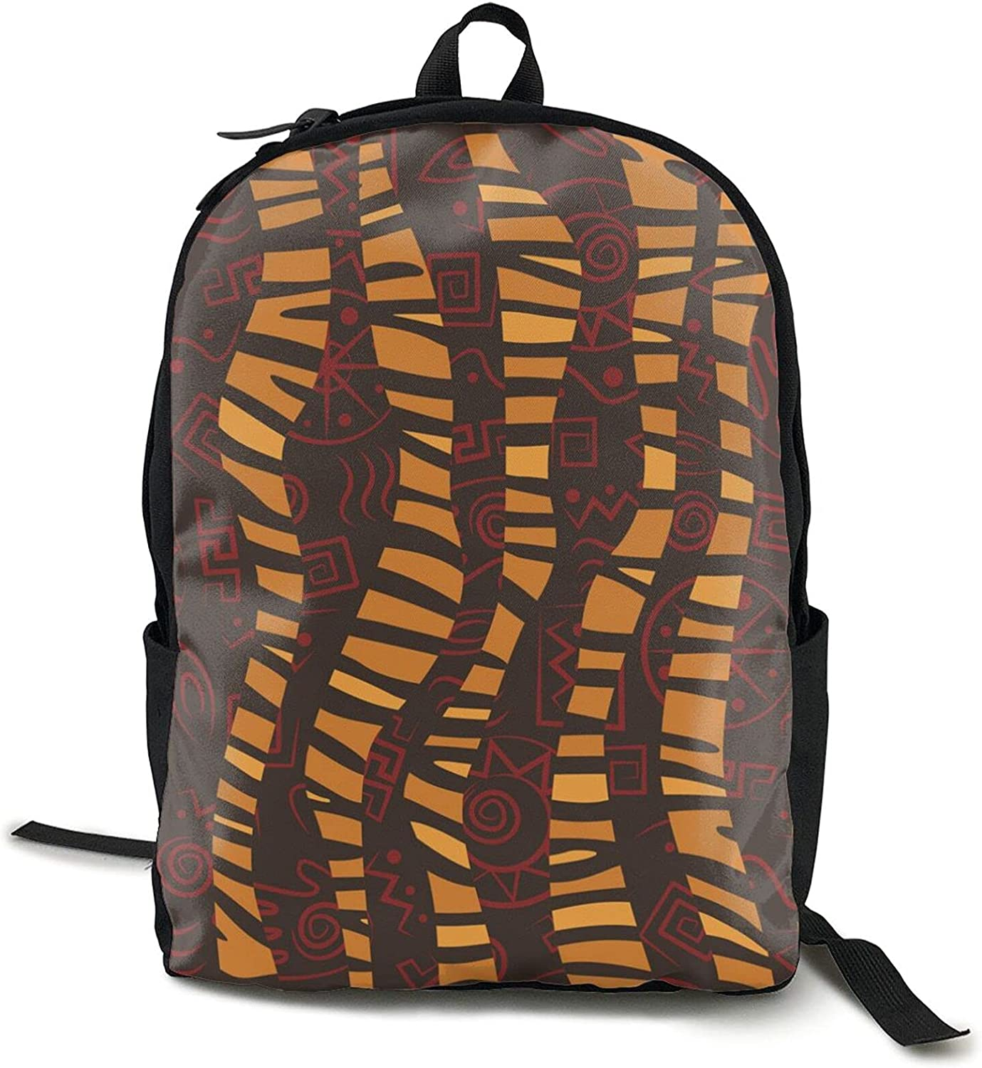 African ethnic pattern New products world's highest quality popular vintage print Backpack Leisure 1 Ch Adult outlet
