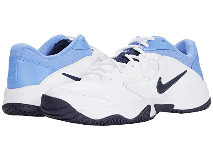 Nike Court Lite 2 (White/Obsidian/Royal Pulse) Men's Tennis ...