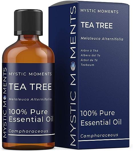 Mystic Moments | Tea Tree Essential Oil - 100ml - 100% Pure