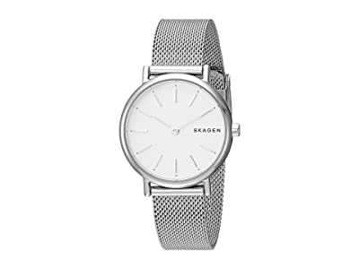 Skagen Signatur Slim Two-Hand Watch (SKW2692 Silver Stainless Steel Mesh) Watches