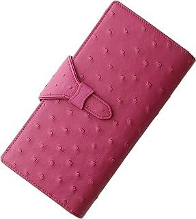 三京商会 オーストリッチ レザー ハーフポイント 多機能 婦人財布 レディース 長財布