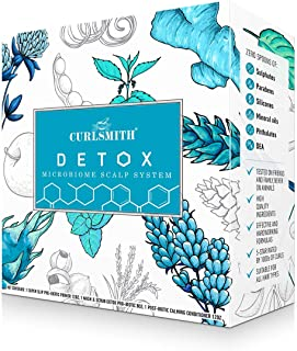 Curlsmith - Detox Kit - Vegan Microbiome Scalp System for Any Hair Type (2 x 350ml, 1 x 250ml)