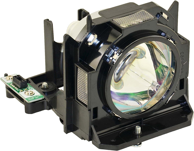 Panasonic Original ET-LAD60 ET-LAD60AW Replacement Projection Lamp with Housing for PT-D5000 D6000 DW530 DW640 DW730 DW740 DX800 DX810 DZ670 DZ770 (Made by Panasonic)