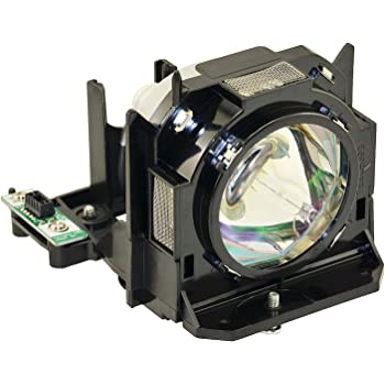 Twin Pack Replacement for Panasonic Pt-dx800el Lamp /& Housing Projector Tv Lamp Bulb by Technical Precision