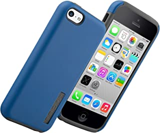 Incipio Dualpro for iPhone 5c - Retail Packaging - Navy Blue/Gray