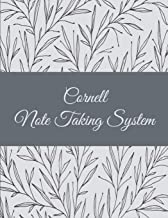 Cornell Note Taking System: Pretty Art Floral, 8.5 X 11 Cornell Notes Journal, Note Taking Notebook, Cornell Note Taking System Book, School and College Notebooks