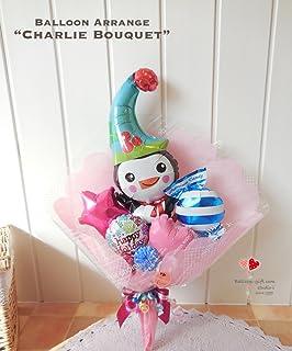 バルーンブーケ「キュートペンギン チャーリーのバルーンブーケ・ワルツ」~お誕生日や発表会のお祝いにバルーンでできた花束ブーケを