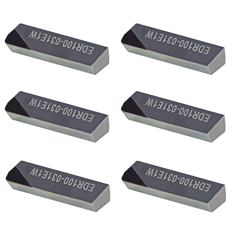 MAXTOOL 6PCs EDR100-031-E1-W4 PCD Tip Po Inserts low-pricing Milling DOV-LOK Max 48% OFF