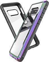 X-Doria Defense Shield, Samsung Galaxy S10e Phone Case - Military Grade Drop Tested, Anodized Aluminum, TPU, and Polycarbonate Protective Case for Samsung Galaxy S10e, (Iridescent)