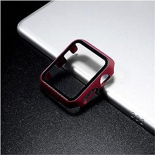 Oglądaj ochronę bariery Szkło + Pokrywa ochronna + Ochraniacz ekranowy Apple Watch Case 44 mm 40 mm IWATCH 42 mm 38 mm Akc...