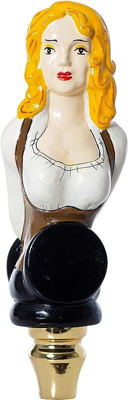 Bar Maid Lady Beer Tap Handle Pull For Homebrew Kegerators Or Bars Bavarian German Style Tap Handle