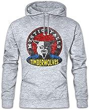 Urban Backwoods Mystic Falls Timberwolves Hoodie Sudadera con Capucha Sweatshirt