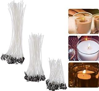 YeeStone Kerzendocht 150 Stück Kerzendochte Kerzen Dochte Candle Wick in 3 Verschiedenen Größen - für die Kerzenherstellung, Kerze DIY 90 mm,150 mm and 200 mm
