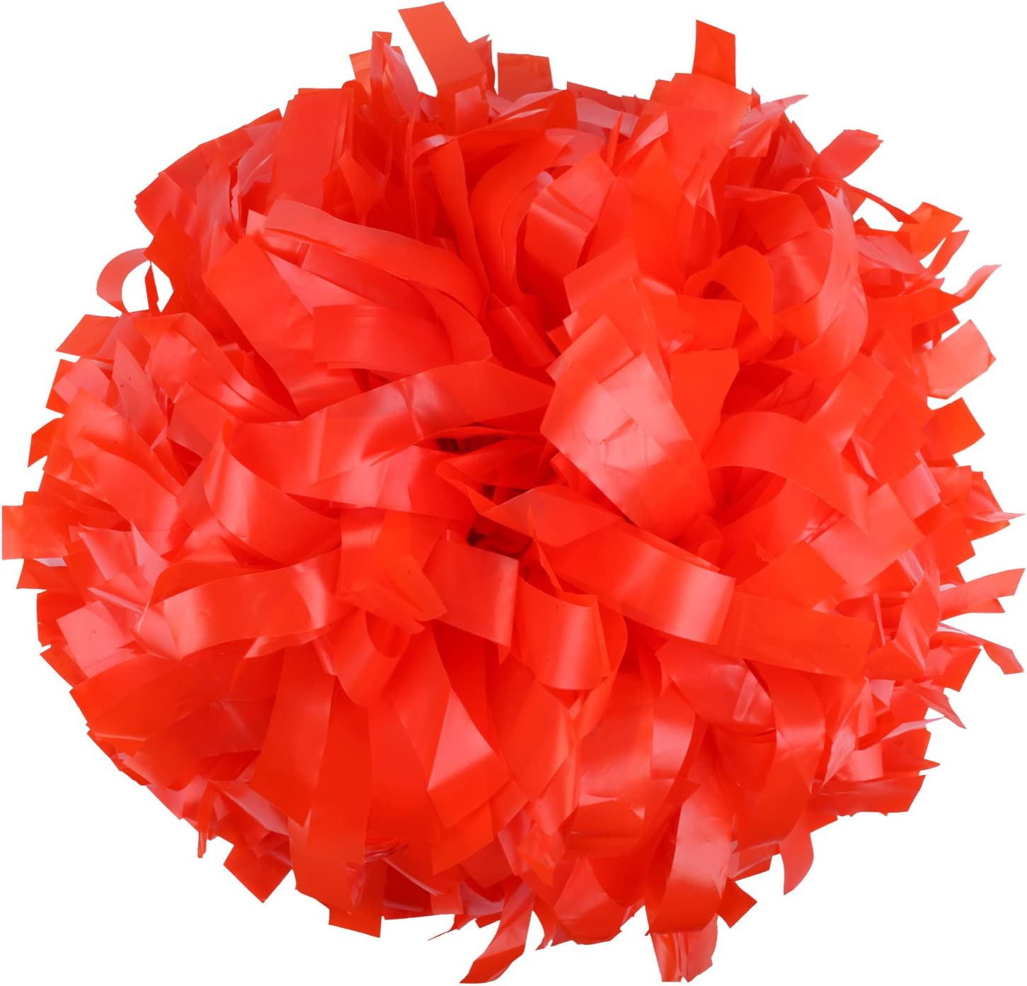 ICObuty Plastic Cheerleader Cheerleading Pom 1 inch Pair Popular brand in the world Poms Cheap mail order specialty store 6
