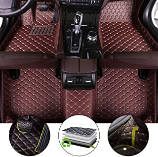 for 2011-2018 Jeep Grand Cherokee Floor Mats Full Protection Car Accessories Coffee 3 Piece Set