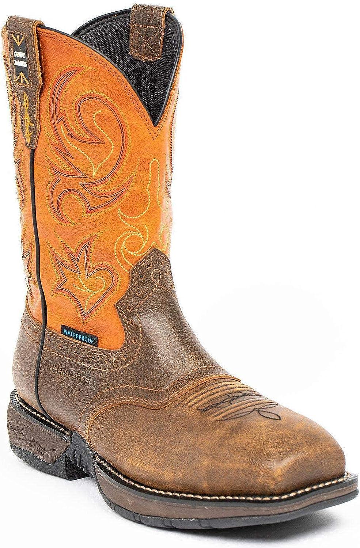 Cody James Men's Nano Lite Waterproof Western Work Composit Direct Ranking TOP4 sale of manufacturer Boot