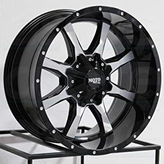 "20/"" Inch Moto Metal MO970 20x10-24mm Gray//Black Wheel Rim 6x135//6x5.5/"""