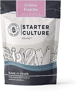Crème Fraîche Starter Culture | Cultures for Health | Delicious, creamy, probiotic, no maintenance, non-GMO