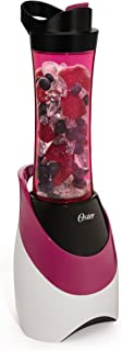 Oster BLSTPB-WPK My Blend 250-Watt Blender with Travel Sport Bottle, Pink (Renewed)