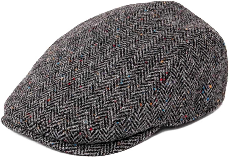 [Alternative dealer] AOBRICON JANGOUL Newsboy Caps Men National products Wool Flat Wa Blend Cap Panel 8