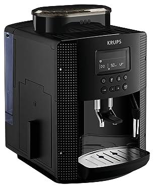 Krups Kaffeevollautomat 15 bar Automatische Reinigung Schwarz