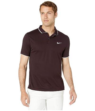 Nike NikeCourt Dry Polo Team (Burgundy Ash/White/Burgundy Ash) Men