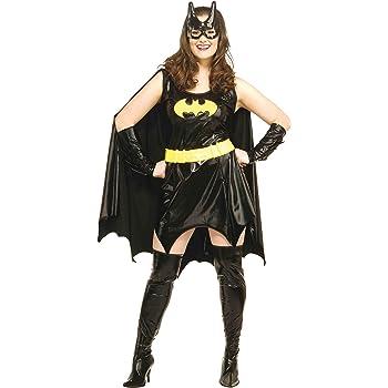 Disfraz de Batgirl para mujer: Amazon.es: Juguetes y juegos