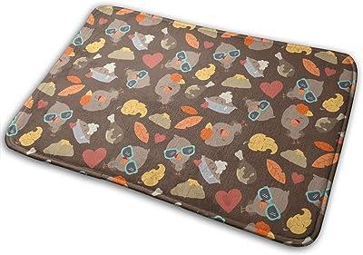 Turkey Fun Carpet Non-Slip Welcome Front Doormat Entryway Carpet Washable Outdoor Indoor Mat Room Rug 15.7 X 23.6 inch