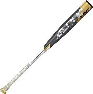 EASTON ALPHA 360 -3 BBCOR Baseball Bat | 2 5/8 inch Barrel | 2020 | 1 Piece Aluminum | ATAC Alloy Carbon Core 360 Technology | VRSCOR Handle Insert | Speed Cap | Lizard Skin Grip