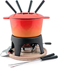 Swissmar Sierra Orange Fondue Set