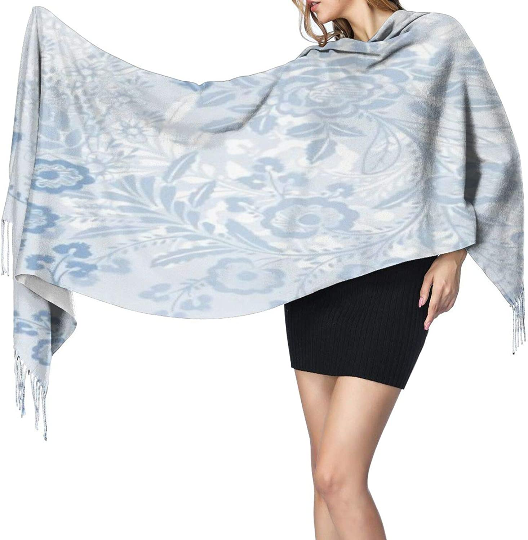 Cashmere fringed scarf Swedish Lizzie winter extra large scarf