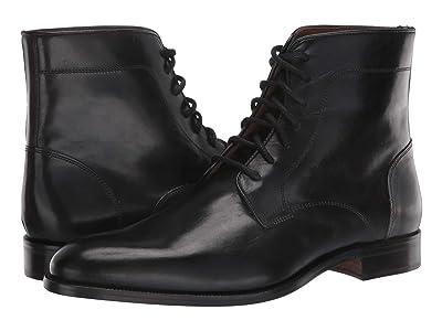 Massimo Matteo 7-Eye Boot (Black 1) Men